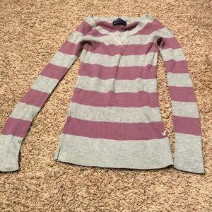 American Eagle V-Neck Sweater, Small